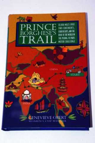 PRINCE BORGHESE&#039;S TRAIL, BOOK